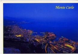Monaco - Monte Carlo - Vue Aerienne - Formato Grande Viaggiata – At1 - Cartoline
