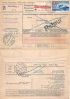 R Einzugsauftrag  Winterthur - Seen             1939 - Suisse