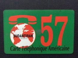 CARTE PRÉPAYÉE  SUDANTIRAN  *120 Unites  T 57   3678 - Autres Prépayées