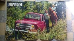 Affiche Originale Voiture 4 L Renault - Affiches