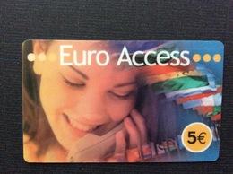 CARTE PRÉPAYÉE  EURO ACCESS  *5€   7126 - Autres Prépayées