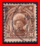 FILIPINAS -  PHILIPPINE (ASIA) SELLO 1917 -1931 PERSONALITIES - WATERMARKED - Filippine