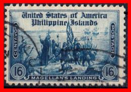 FILIPINAS -  PHILIPPINE (ASIA) SELLO 1935 PREVIOUS STAMPS IN VARIOUS SIZES (SIZES IN MILLIMETRES) - Filippine