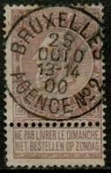 MX-2806   BRUXELLES AGENCE N° 2         OCB 61 - 1893-1900 Thin Beard