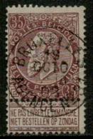 MX-2814   BRUXELLES AGENCE N° 31        OCB 61 - 1893-1900 Thin Beard