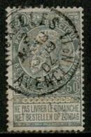 MX-2816   BRUXELLES AGENCE N° 11        OCB 63 - 1893-1900 Schmaler Bart