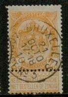 MX-2834  BRUXELLES    AGENCE N° 3          OCB 54 - 1893-1907 Armoiries