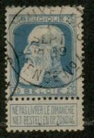MX-2839   BRUXELLES  AGENCE N° 4         OCB 76 - 1905 Grosse Barbe
