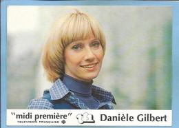 """Danièle Gilbert (née à Chamalières 63) Présentatrice De """"Midi Première"""" Sur TF1 - 2 Scans - Femmes Célèbres"""