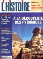 Revue L'HISTOIRE N° 216 / Dossier Bonaparte Expedition Egypte , Papon , Paris , Assassins Gandhi , Affaire Poison - Histoire