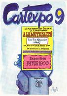 PAGES  Raymond - Salon Carte Postale Cartexpo 9  - CPM  10.5x15 TBE 1987 Neuve Carte Dédicacée - Pages