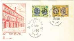 ITALIA REPUBBLICA -  FDC - FIRST DAY COVER - EUROPA CEPT  - ANNO 1980 - CAPITOLIUM - OFFERTA SPECIALE - 6. 1946-.. Republic