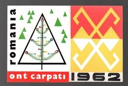 Carte De Voeux Romania 1962 - Cartes