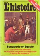 Revue L'HISTOIRE N°  61 Novembre 1983 / 1917 Année Terrible , Bonaparte Egypte , Années 60 , Sacrifice Massada - Histoire