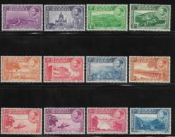 Ethiopia, Scott # 285-96(no 290A) Mint Hinged Various Subjects ,1947, CV52.90, Some Paper On Back - Ethiopia