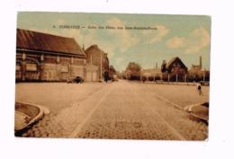 Flers-Lille.Salle Des Fêtes,rue Jean-Baptiste Bonte.Oldtimer.Autos.Vélo. - Villeneuve D'Ascq