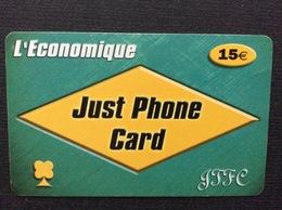 CARTE PRÉPAYÉE  GFFC  *15€  L'Economique   3946 - Autres Prépayées