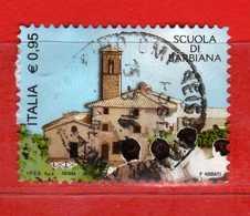 Italia ° - 2015 - SCUOLA Di BARBIANA. Unif. 3718.    USATO, Vedi Descrizione. - 2011-...: Usati