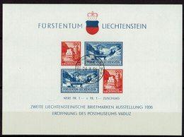 Liechtenstein 1936 # Block 2 O - Blocs & Feuillets