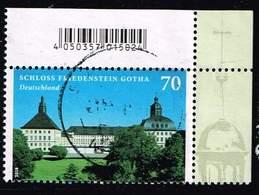 Bund 2018, Michel# 3366 O Burgen Und Schloesser: Schloss Friedenstein Gotha - Gebraucht