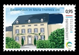 Luxembourg (Meng Post) 2019 No. 123 Architecture. Farmhouse In Maria Theresia Style MNH ** - Neufs
