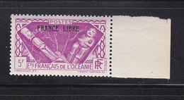 OCEANIE 147 FRANCE LIBRE LUXE NEUF SANS CHARNIERE - Oceania (1892-1958)