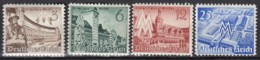 DR 739-742, Postfrisch **, Leipziger Frühjahrsmesse 1940 - Nuevos