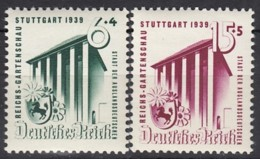 DR  692-693, Postfrisch **, BUGA Stuttgart 1939 - Nuevos
