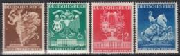 DR 768-771, Postfrisch **, Wiener Frühjahrsmesse 1941 - Nuevos
