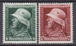 DR  569 X-570 Y, Postfrisch **, Heldengedenktag 1935 - Neufs