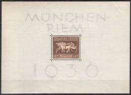 DR  Block 4, Ungebraucht **, Das Braune Band 1936 - Deutschland