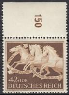 DR 815, Postfrisch **, Das Braune Band 1942 - Nuevos