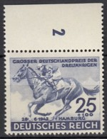 DR 814, Postfrisch **, Deutsches Derby 1942 - Nuevos