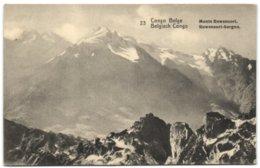 Congo Belge - Monts Ruwenzori - Congo Belge - Autres