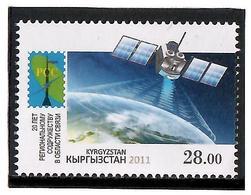Kyrgyzstan.2011 RCC - 20 Years (Communications). 1v: 28.00  Michel # 675 - Kirghizistan