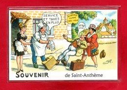 63-CPSM SAINT ANTHEME - France
