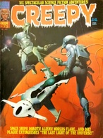 (DIV081) CREEPY #73, James Warren, Cover Ken Kelly, August 1975 - Livres, BD, Revues