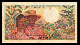 # # # Banknote Madagaskar (Madagascar) 1.000 Francs # # # - Madagaskar