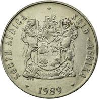 Monnaie, Afrique Du Sud, 50 Cents, 1989, TTB, Nickel, KM:87 - Afrique Du Sud