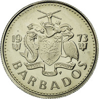 Monnaie, Barbados, 10 Cents, 1973, Franklin Mint, SUP+, Copper-nickel, KM:12 - Barbades