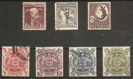 AUSTRALIA 1948 - 1951 SET SG 223/224d FINE USED Cat £21 - Used Stamps