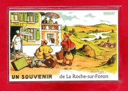 74-CPSM LA ROCHE SUR FORON - La Roche-sur-Foron