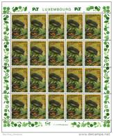 Luxembourg Feuille De 20 Timbres à 0,52 + 0,08 Euro   Hérisson, Igel, Hedgehog   Timbre De Bienfaisance 2002 - Full Sheets