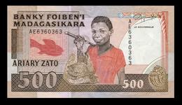 # # # Banknoten Madagaskar (Madagascar) 500 Ariary # # # - Madagaskar