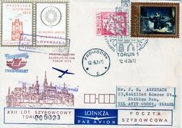 Poland-Israel 1973 Exhibition Cover Nicolaus Copernicus Matematichian & Astronomer III - Astronomy