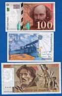 France  3  Billets - 1992-2000 Last Series