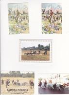 Portugal 5 Calendários  -campinos Do Ribatejo -1998-1990-1995 - Tamaño Pequeño : 2001-...