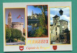 24 Périgueux Capitale Du Périgord ( Multivues, Blason ) - Périgueux