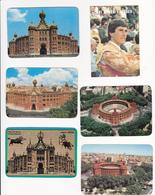 Portugal 6 Calendários  -Rui Bento Vasques + Praça Touros Campo Pequeno -1988-1989 - Tamaño Pequeño : 2001-...