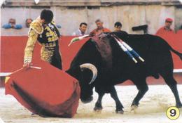 Espanha- 10  Calendários  -coleção Completa 1 A 10 Detalhe De Corrida-1997 - Tamaño Pequeño : 2001-...